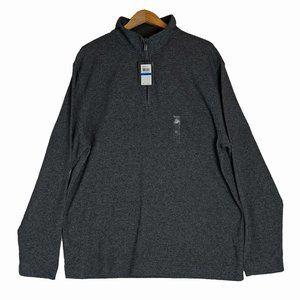 Men's Pullover Size XL Van Heusen 1/4 zip-up top